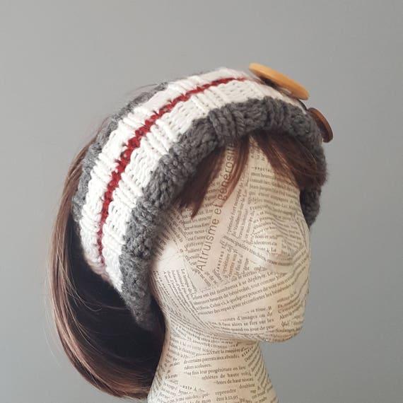 modele serre tete tricot