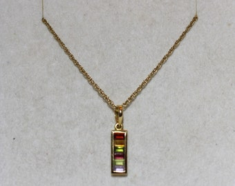 Gd necklace with charm