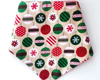 Christmas Ornaments Over-The-Collar Pet Bandana