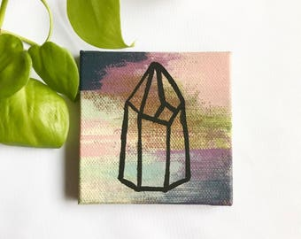 Small Crystal Painting