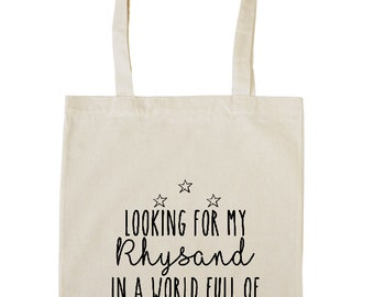 Looking for my Rhysand | ACOTAR inspired tote bag