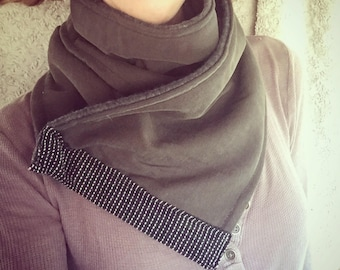 Cozy fleece lined scarf for any gender