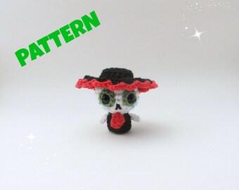 Amigurumi Skeleton Pattern, Dia De Los Muertos, Crochet Doll Pattern, Amigurumi Doll Pattern, Crochet Pattern, Amigurumi Pattern, Doll Toy