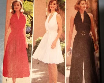 Vintage Early 1990s Butterick Pattern 6790 Size 6-8-10-12