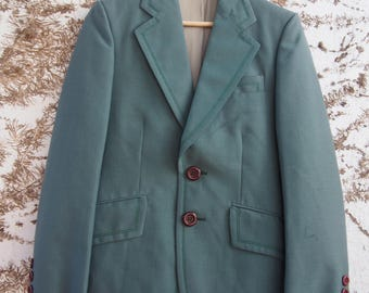Men's (S) Green Sports Coat size (small)