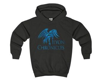 Ilyon Chronicles Blue Hawk Kids Hoodie