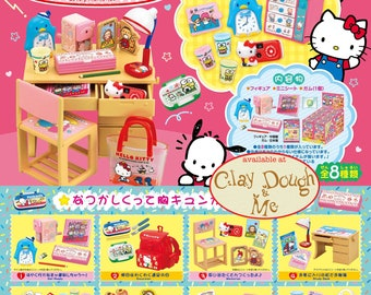 CLAYDOUGH & ME - Re-ment Sanrio Lovely Memories, Re-ment Sanrio Nostalgic Items, Re-ment Sanrio Hello Kitty Nostalgic Items vol. 2