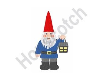 Gnome - Machine Embroidery Design, Gnome