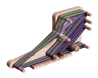 Ashford Inklette Loom , Small Lightweight and Portable Inkle Loom, Great for weaving Bands.