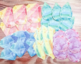 Jewel Flake Stickers from Japan