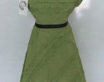 Ruffle sleeved Tassel Dress
