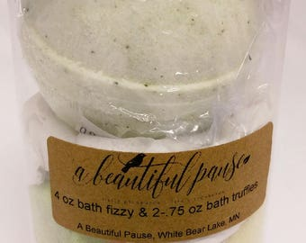 Bath Fizzy and Truffles Canister