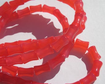 4 Orange 10 mm (6-9 agate) pink agate beads