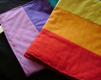 Rainbow - Roy G. Biv - Baby / Toddler Quilt