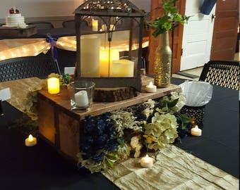 Country Chic wedding decor
