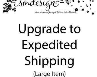 Upgrade to Expedited Shipping-Large Item