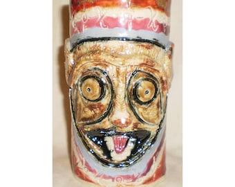Tarsier Ceramic Tiki Mug