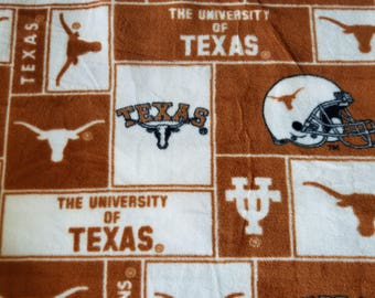 Texas Longhorns Fleece Fabric (26 inches)