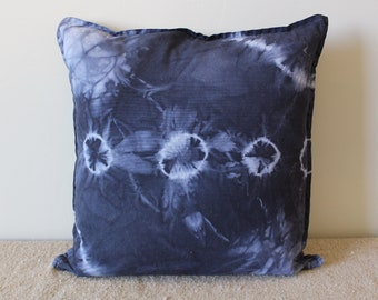 Hand Dyed Linen Pillow Covers