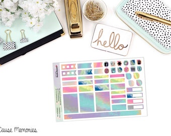 Painted Days - B6 MONTHLY KIT - Paper Planner Stickers