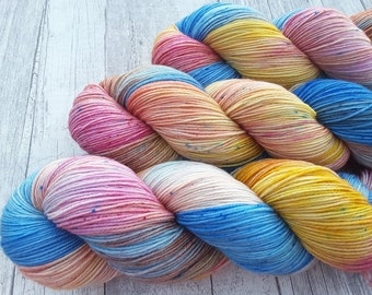 Luftikus-Maia, 100% merino Superwash-400 m/100g-hand dyed yarn