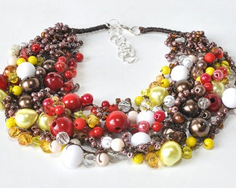 kama4you 3302 necklace crochet