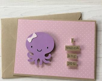I wannna hug you Octopus card