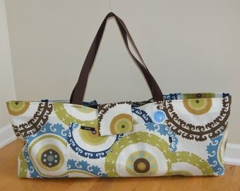 X-Large Yoga Bag with Quilted lining - Made to Order.