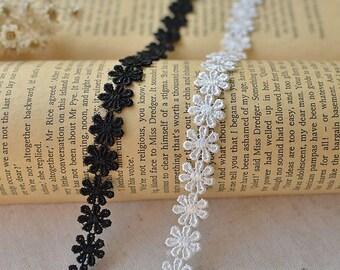 3,2 ft (1m) 1,2 cm Spitze Halskette Material. Halsband. Kleidung accessories.chocker Spitze--H002