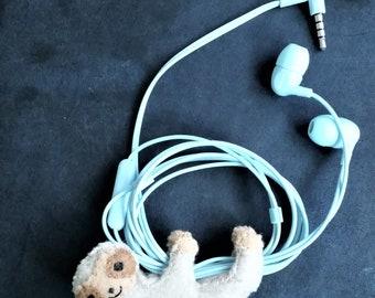 Lento the Sloth Headphone buddy