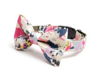 Dog Bow Tie - Floral Splash