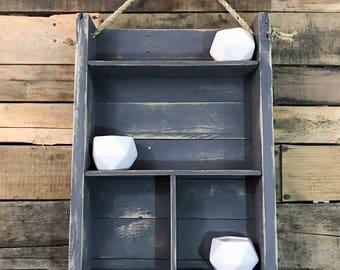 Reclaimed Wood Shelf / Floating Shelf / Wood Shelf / Industrial Shelf / Rustic Shelf / Rustic Wall Shelf / Rustic Storage