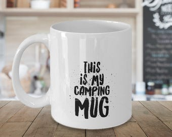 Parks and Recreation Mug | This is my Camping Mug | Coffe Mug | Parks and Rec Mug | Camping Gift | Mug for Him | Mug for Her