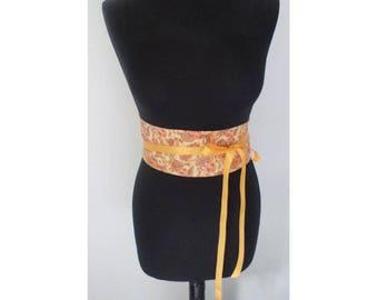 Obi style belts
