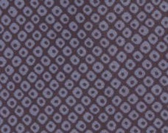 Fabric - Sevenberry Navy irregular spot - medium weight woven cotton