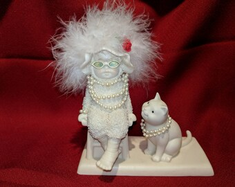 Department 56 Snowbabies Pastimes Girls Night Out Figurine 56.69762 2006