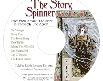 "MP3 Download - ""Cap O Rushes"" from The Story Spinner Audio CD"