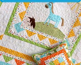 pdf baby quilt pattern baby boy quilt pattern pdf quilt pattern pdf easy quilt pattern digital pdf applique quilt horse quilt