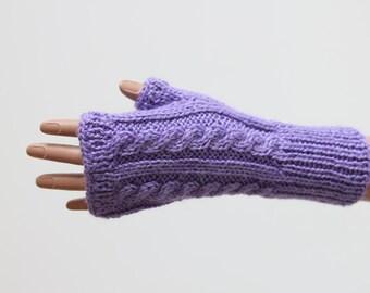 Knit fingerless gloves Knit fingerless mitts Arm warmers Fingerless mittens Driving gloves Winter gloves Arm warmers Hand warmers
