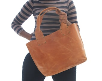leather tote bag library tote women leather bag leather laptop bag leather  ladies laptop bag women leather shopping bag  Brown leather bag