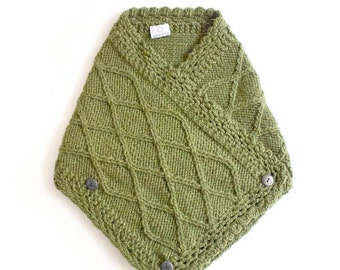 Lattice Knit Neckwarmer