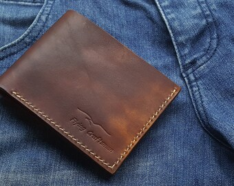 Medium Bi-fold Wallet(Tan)
