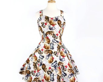 SUMMER SALE!!!Flirty Kitten Dress