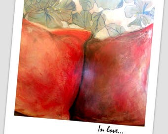 in love series pillow