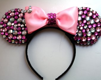 Minnie Mouse Ears - Pink