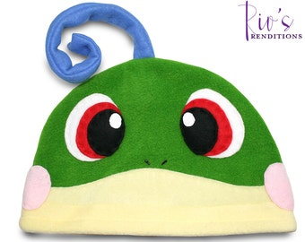 Pokemon - Politoed Hat / Fleece Hat / Winter Hat / Pokemon Hat / Fleece Pokemon Hat / Video Game Characters