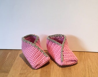 Misc. Fortune Cookie Baby Booties-Glitter