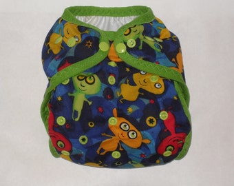 Alien Diaper Cover