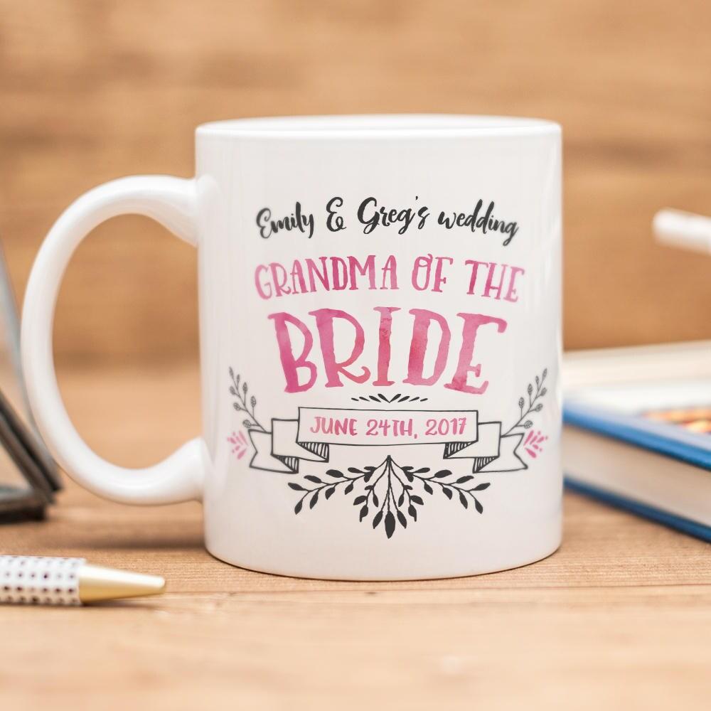 Beautiful Wedding Gifts: Grandma Of The Bride Mug Beautiful Wedding Gift