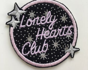 Marina and the Diamonds Lonely Hearts Club Iron On Embroidered Patch